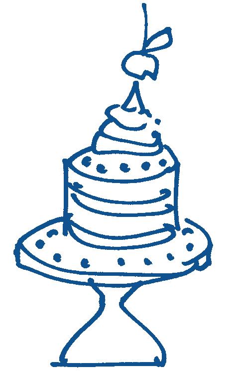 Kers op de taart