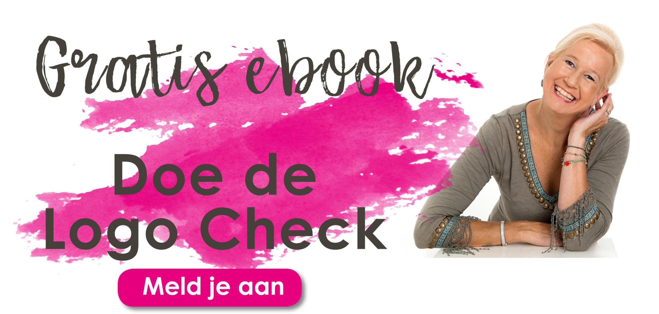 1 banner voor DOE DE LOGO CHECK